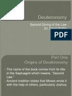 Biblical Literature Lecture 04 Deuteronomy