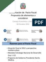 PROPUESTA DE PACTO FISCAL