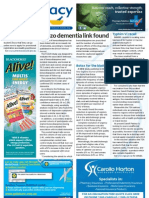 Pharmacy Daily for Tue 09 Oct 2012 - Benzo dementia link, Typhim Vi recall, Shingles rising, Terry White loyalty and much more...