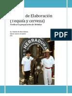 Reporte Proceso de elaboracion (Tequila y Cerveza) Edwin Garcia 4°B
