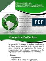 Contaminacion Del Aire en Sta. Marta Desde 2010