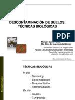 Biorrremediacion de Suelos Por Manuel Quiroz....