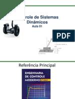 Controle de Sistemas Dinamicos - Aula I - Alunos