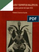 diablos, brujos y espíritus maléficos