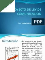 PROYECTO DE LEY DE COMUNICACIÓN