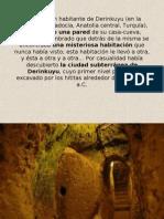 Ciudad Subterranea Derinkuyu
