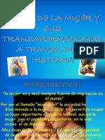 El Rol de La Mujer y Sus Transaformaciones - Copia