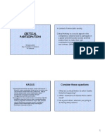Microsoft Powerpoint - Critical Participation