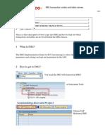 SAP FicoTips3 IMG Transactions