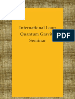 """International Loop Quantum Gravity Seminar"" blog"