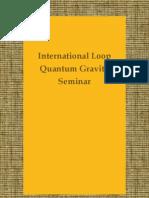 """""""International Loop Quantum Gravity Seminar"""" blog"""