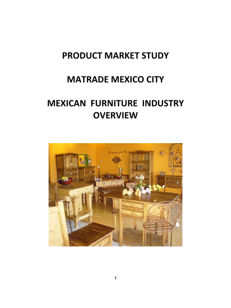 Mexican Furniture Industry | Plywood | Mexico