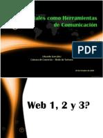 Redes Sociales Como Herramientas de Comunicacin