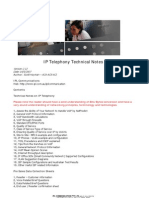 IPL IP Telephony Technical Notes 14052007