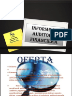 Informe de Auditoria Financiera