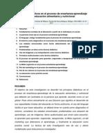 Monografia - Tupac-principios Didacticos en El Proceso E-A de La Educacion Alimentaria y Nutricional.
