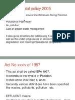 Enviromental Legislation