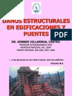 DAÑOS ESTRUCTURALES EN EDIFICACIONES Y PUENTES