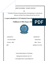 A Summer Trainning Project Report1