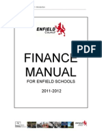 Enfield Schools Finance Manual 2011-12