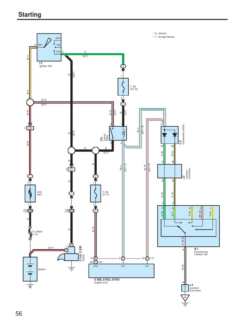 Avanza Starter Wiring