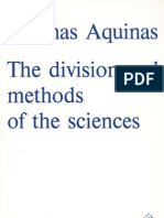 Chapter 5-Divisions & Methods of the Sciences