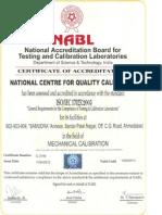 Mechanical NABL Certificate - NCQC