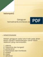 Gangguan Hemodinamik, Trombosis, Dan Syock