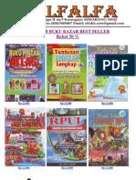 Katalob Buku Bazar Best Seller.