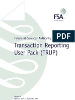 Transaction Reporting User Pack