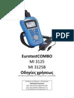 MI 3125B EurotestCOMBO GREEK Manual