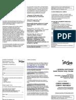 Scheda Iscrizione e Volantino Corso Corpo Sonoro Corpo Motorio Alla COLLINA