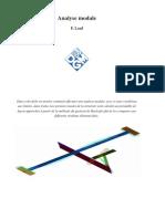 Analyse modale dans CATIA