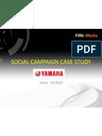 SocialCampaign YamahaCaseStudy FifthiMedia New