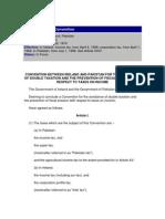 DTC agreement between Ireland and Pakistan