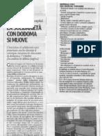 La solidarietà con Dodoma si muove