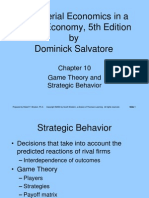 Game Theory & Strategy