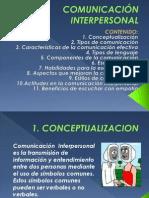 PRESENTACION COMUNICACIÓN INTERPERSONAL