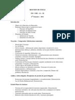 Resumen de Temas 2011