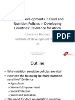 Haddad 0800 Thursday African Nutrition Congress