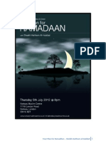 Your Plan for Ramadhan - Sheikh Haitham Al Haddad