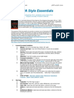 Reguli Citare Bibliografie APA