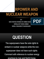 Superpower and Nuclear Weapon