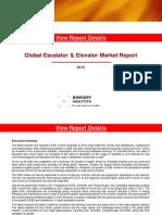 Global Escalator & Elevator Market