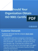 Why ISO 9001