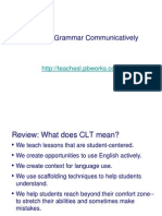 1. Teaching Grammar Communicatively