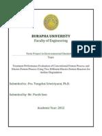 Burapha Univeristy Assignment Template