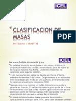 Clasificacion de Masas
