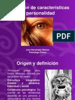 Evaluacion de Las Caracteristicas de Personalidad