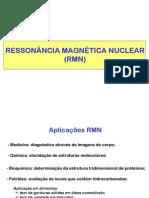 Ressonância Magnética Nuclear (RMN) parte 1